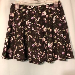 American Eagle Outfitters floral skirt